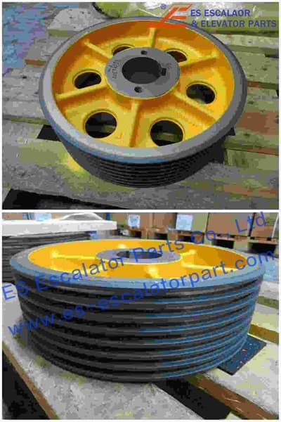 ESThyssenkrupp Traction Sheave 200023719