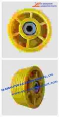 Thyssenkrupp Rope Pulley Assy 200256518