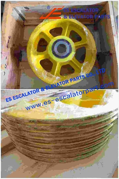 ESThyssenkrupp Rope Pulley Assy 200360822