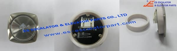 Thyssenkrupp White Diamond Type Push button 200086371