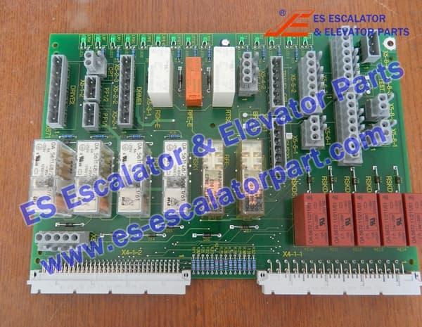 Schindler SKE 1.M Elevator PCB 590871