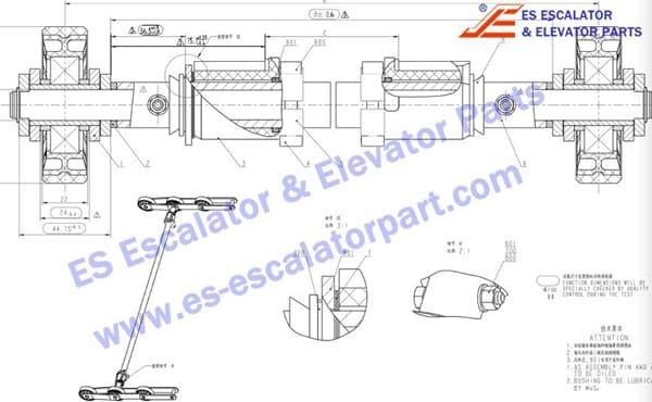 xizi ESOTIS step chain XAA26150X1
