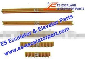 OTIS Escalator Part GO455G1 Step Demarcation NEW