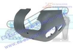 FUJITEC Escalator Parts Handrail Inlet NEW 0156CAJ