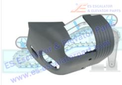 FUJITEC Escalator Parts Handrail Inlet NEW 0156CAK