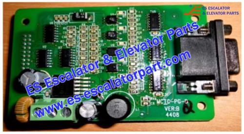 SJEC MCTC-PG-D Encoder PCB
