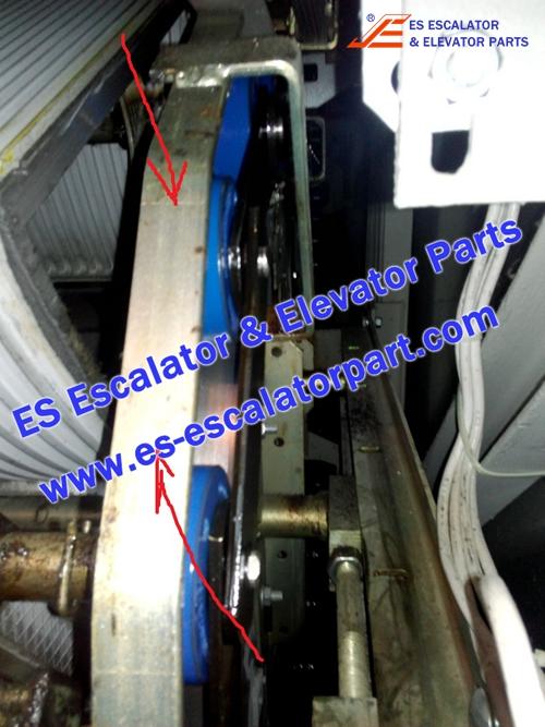 schindler escalator STL437609 return guide
