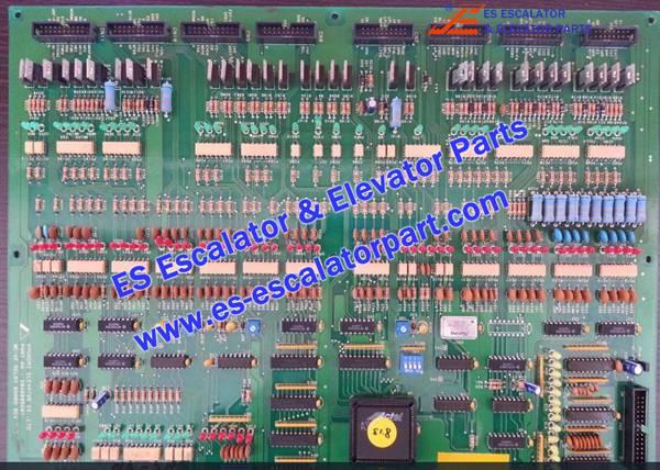 Hyundai Elevator logic PCB