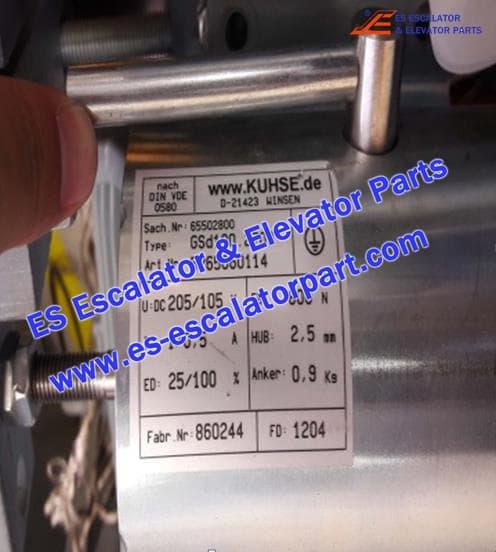 Escalator TUGELA 945 5265060114 GSD100.2703 vbrake coil