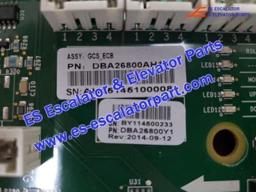 XIZI OTIS Escalator 508 DBA26800AH15 PCB
