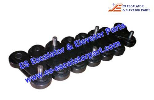 Schindler Escalator Parts Step Chain P=133.33mm,pin=20mm