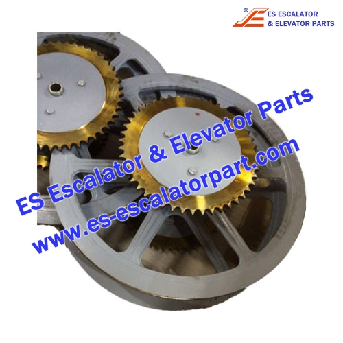 Thyssenkrupp Escalator Parts 1709051000 Handrail drive wheel