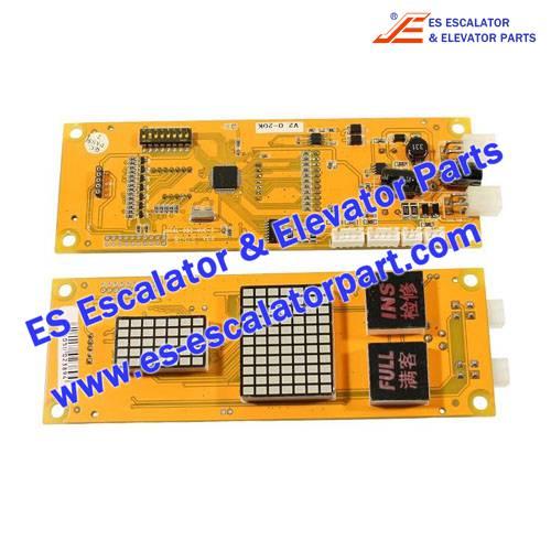 BLT Elevator Parts OCAL-08C-NUC-2 PCB Board