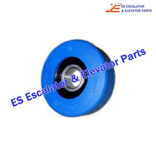 Thyssenkrupp Escalator Parts 8002860000 Step roller D75 PU 85A 2ZR (indoor)