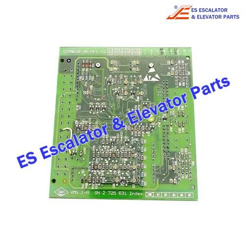 O&K Escalator VMS1-B PCB