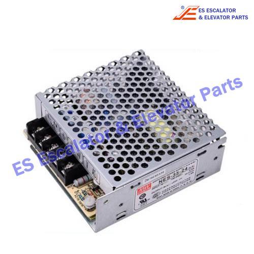 ESThyssenkrupp Escalator Parts 8800500033 Switch Power Supply NES-35-24