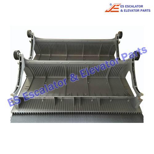 ESThyssenkrupp Escalator Parts 1705770900 Aluminum step