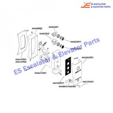 GO147KB1 Escalator Keyswitches Parts Cover Appearance